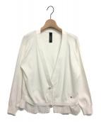 CHONO(チョノ)の古着「Breakfast knit」 ホワイト