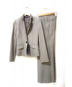 BURBERRY(バーバリーズ)の古着「フレアパンツスーツ」|グレージュ