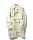 ORCIVAL(オーチバル)の古着「ロングダッフルコート」 アイボリー