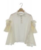 danskin(ダンスキン)の古着「ポロシャツ」|ホワイト