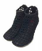 CELINE(セリーヌ)の古着「グローブブーティ」|ブラック