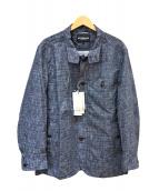 McGREGOR(マクレガー)の古着「ドットエアジャケット」|ブルー