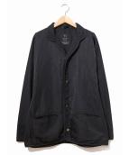 Y's YOHJI YAMAMOTO(ワイズ ヨウジヤマモト)の古着「スナップボタンジャケット」|ブラック