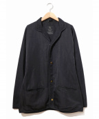 Y's YOHJI YAMAMOTO(ワイズ ヨウジヤマモト)の古着「スナップボタンジャケット」 ブラック