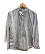 VISVIM(ビズビム)の古着「スタッズシャンブレーシャツ」 ネイビー