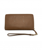 Maison Margiela 11(メゾンマルジェラ 11)の古着「ラウンドファスナー長財布」|キャメル