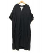 TICCA(ティッカ)の古着「ツイストスリーブワンピース」|ブラック