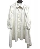 MaxMara(マックスマーラ)の古着「プルオーバーシャツ」|オフホワイト