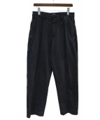 Noah(ノア)の古着「タックパンツ」|ブラック