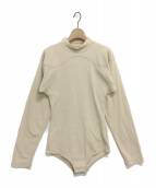 FUMIKA UCHIDA(フミカ ウチダ)の古着「カットソー」|ベージュ