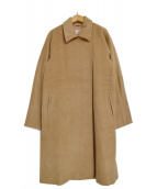 MaxMara(マックスマーラ)の古着「ウールカシミヤラップコート」|キャメル