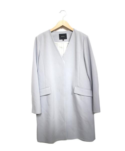 BOSCH(ボッシュ)BOSCH (ボッシュ) ダブルクロスコート スカイブルー サイズ:38の古着・服飾アイテム
