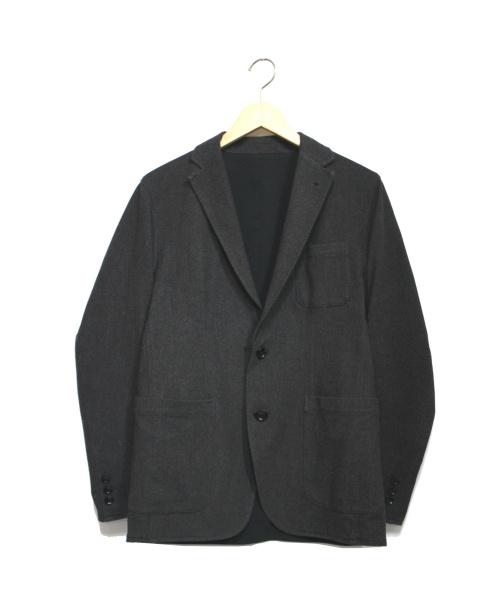 SOPHNET.(ソフネット)SOPHNET. (ソフネット) STRETCH GABARDINE REVERSIBLE 2 グレー×ブラック サイズ:Sの古着・服飾アイテム