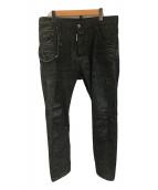 ()の古着「デニムパンツ」 ブラック