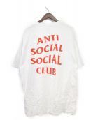 ANTI SOCIAL SOCIAL CLUB(アンチソーシャルソーシャルクラブ)の古着「Tシャツ」|ホワイト