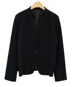 K.T KIYOKO TAKASE(ケーティーキヨコタカセ)の古着「ボトルネック風スタンドカラージャケット」|ブラック