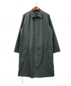 UMIT BENAN(ウミットベナン)の古着「ナイロンステンカラーコート」|グリーン