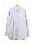 COMME des GARCONS SHIRT(コムデギャルソンシャツ)の古着「ストライプシャツ」|スカイブルー