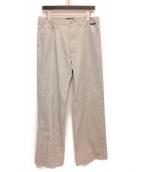 BALENCIAGA(バレンシアガ)の古着「19SS ノープリーツパンツ」|ライトグレー