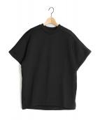 HYKE(ハイク)の古着「ハーフスリーブTシャツ」|ブラック
