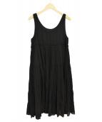 Y's(ワイズ)の古着「ノースリーブワンピース」|ブラック