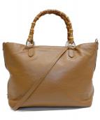 GIANNI NOTARO(ジャンニ ノターロ)の古着「2WAYバッグ」|ブラウン