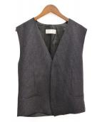 Dior Homme(ディオールオム)の古着「ウールジレ」|グレー