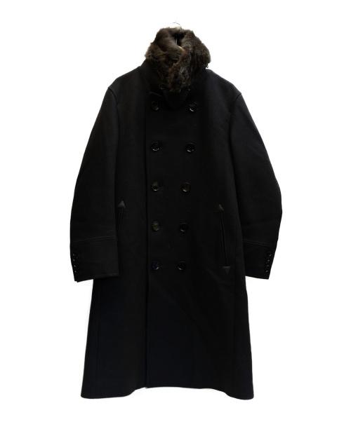 LOVELESS(ラブレス)LOVELESS (ラブレス) ダブルオフィサーコート ネイビー サイズ:表記サイズ:3 ×miliorの古着・服飾アイテム