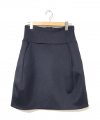 JIL SANDER()の古着「ボンディングスカート」|ネイビー