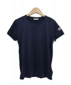 MONCLER(モンクレール)の古着「ワッペンTシャツ」|ネイビー