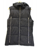 junhashimoto(ジュンハシモト)の古着「中綿ベスト」|ブラック