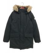 QUARTZ(クオーツ)の古着「ダウンコート」|ブラック
