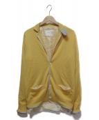 sacai(サカイ)の古着「ニットジャケット」|イエロー