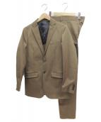 KNOTT(ノット)の古着「ストレッチツイル2Bスーツ」|キャメル
