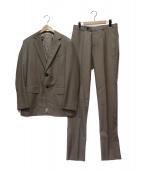 TOMORROW LAND PILGRIM(トゥモローランドピルグリム)の古着「Super150s 2Bスーツ」|ベージュ