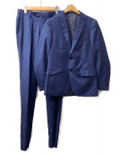 green label relaxing(グリーンレーベルリラクシング)の古着「シャークスキン2Bスーツ」|ロイヤルブルー