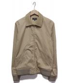 A.P.C(アーペーセー)の古着「レザーカラースイングトップ」|ベージュ