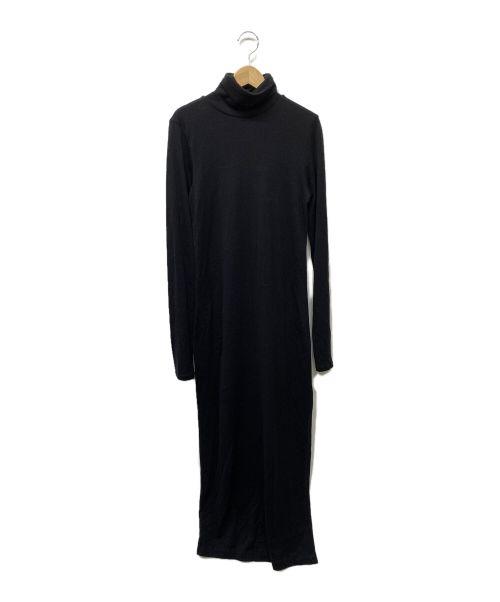 POLO RALPH LAUREN(ポロ・ラルフローレン)POLO RALPH LAUREN (ポロ・ラルフローレン) カットソーワンピース ブラック サイズ:Sの古着・服飾アイテム