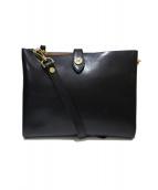 GIANNI CHIARINI(ジャンニ・キャリーニ)の古着「2WAYバッグ」|ブラック