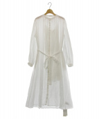 FRAY ID(フレイアイディー)の古着「ペイズリーコットンワンピース」|ホワイト