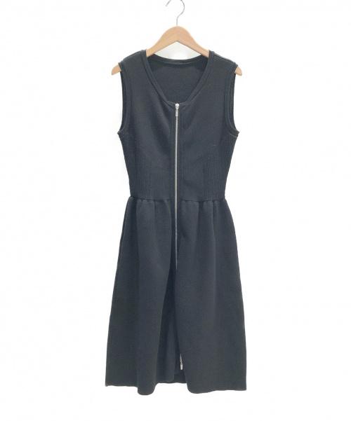 FOXEY(フォクシー)FOXEY (フォクシー) シェイプアップドレス ブラック サイズ:38の古着・服飾アイテム