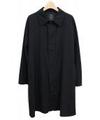 Y's(ワイズ)の古着「ラグランスリーブコート」|ブラック