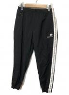 FLAGSTUFF(フラグスタッフ/フラッグスタッフ)の古着「NYLON LINE PANTS BLACK」|ブラック