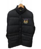 Rugby Ralph Lauren(ラグビーラルフローレン)の古着「ダウンジャケット」|ブラック