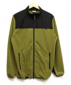 Sandinista()の古着「Microfleece Inner Jacket」 グリーン
