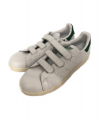 adidas(アディダス)の古着「ベルクロ スニーカー」|ホワイト×グリーン