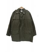 FF.AA.(FF.AA.)の古着「90'sライナー付きミリタリーコート」 カーキ