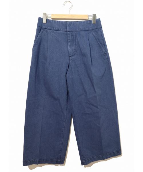 MARNI(マルニ)MARNI (マルニ) タックワイドパンツ インディゴ サイズ:40表記  S17PAJDU05A00TCU62の古着・服飾アイテム
