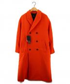 HARE()の古着「CSP Dオーバーコート」|オレンジ
