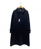 HARE()の古着「ビッグステンカラーコート」|ブラック